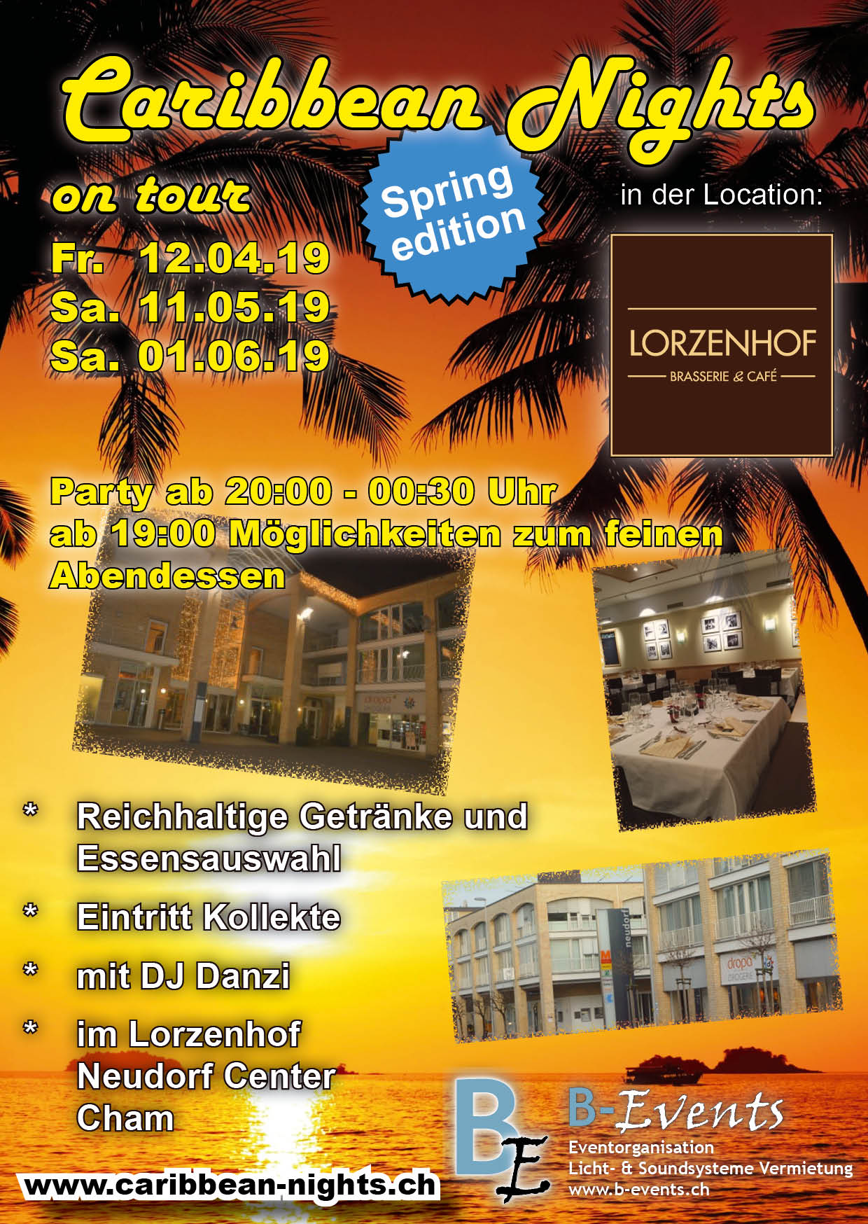 Flyer Caribbean Nights Lorzenhof 2019 V01